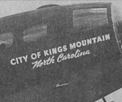 City of Kings Mountain North Carolina